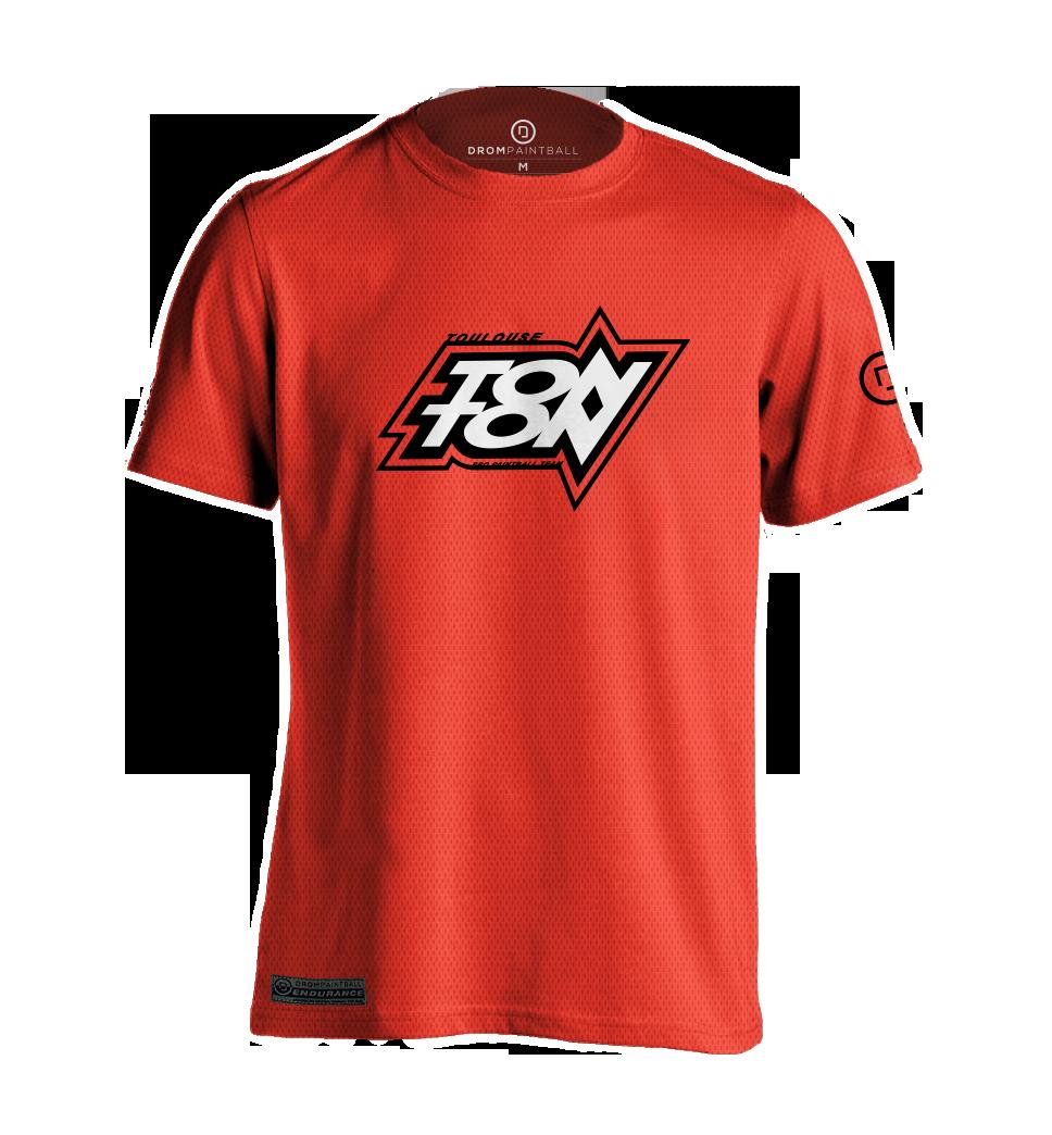 Desain t shirt racing - Tonton