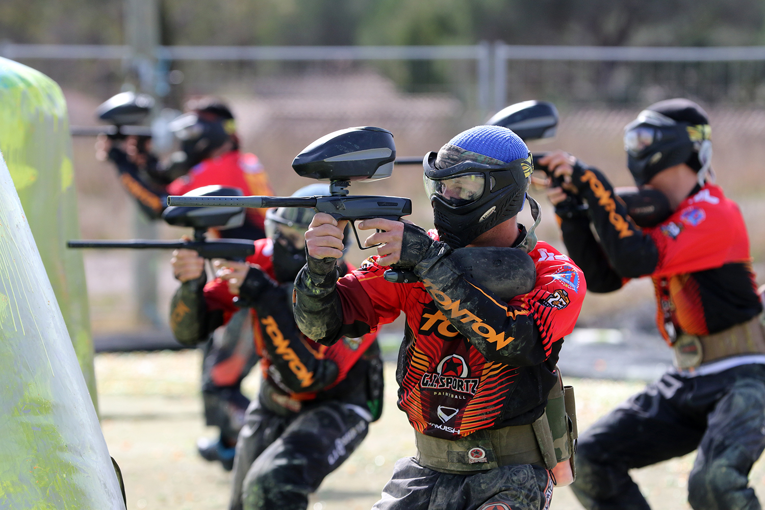 Extreme Contact Sport >> 2017 Toulouse TONTON Paintball Agility Jersey #1 Edition